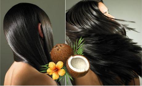 Masca cu ulei de cocos pentru par