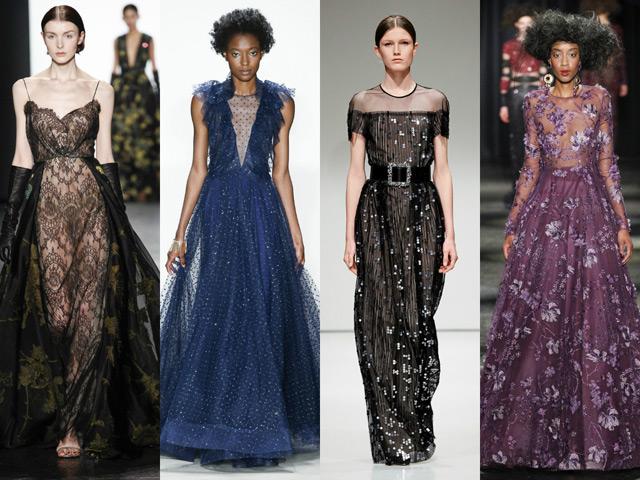 Модные платья от дизайнеров 2017