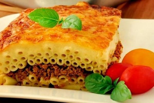 Пастицио рецепт пошагово